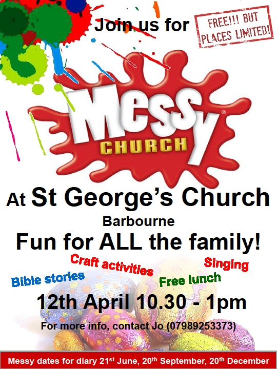 Messy Church 12th April