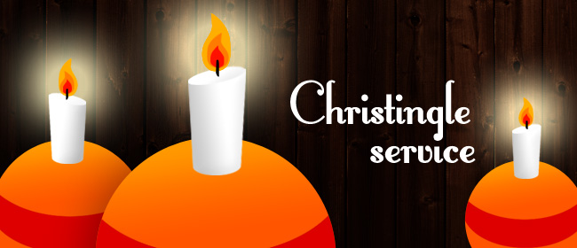 Christingle Café Church Sunday 10th Dec. at 4.30pm