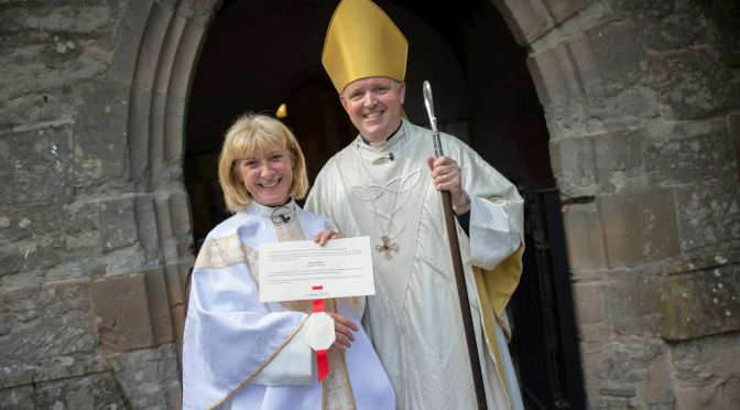Ordination of Rev Paula Honniball and First Eucharist