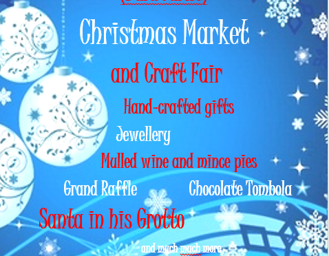 Christmas Market at St George's – Sat Nov 17th 11 to 2pm