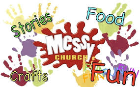 Next Messy Church at St George's is Saturday 15th June 10.30 – 1.00pm